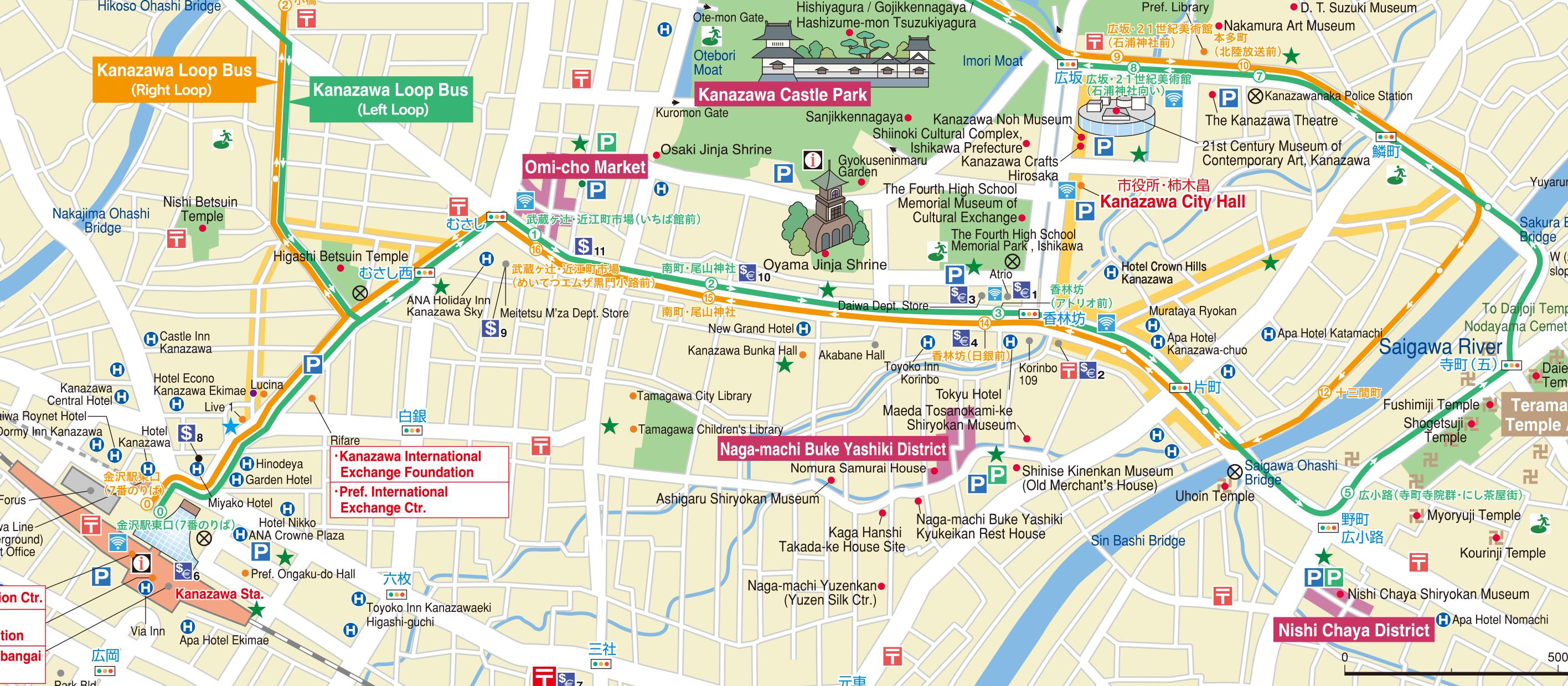 APCOT - Japan map kanazawa